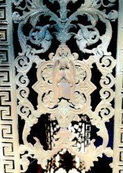 Portes de chapelles sépulcrales (2) – Division 50 – Cimetière du Père Lachaise – Paris (75020)