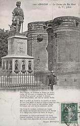 Monument au roi René – Angers