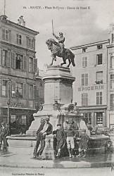 Monument à René II de Lorraine – Place Saint-Epvre – Nancy