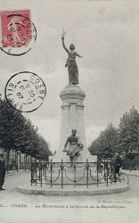 Monument à la gloire de la République – Cosne-sur-Loire (fondu)