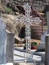 Fonte funéraire – cimetière – Antraigues-sur-Volane
