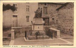 Monument aux morts de 14-18 – Arconsat