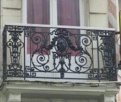 Balcons – Place Godefroy de Bouillon – Boulogne-sur-Mer