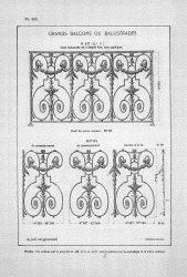 CAP_PL0302 – Grands balcons ou balustrades