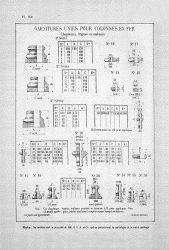 CAP_PL0696 – Garnitures unies pour colonnes en fer