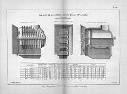 CAP_PL0799 – Cylindres de calorifères à foyer de briques réfractaires