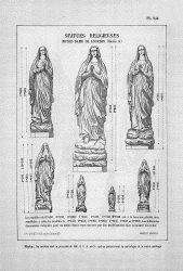 CAP_PL0944 – Statues religieuses : Notre-Dame de Lourdes (série A)