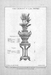 CAP_PL0973 – Vase cache-pot n° 2 avec trépied