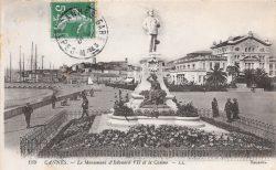 Monument à Edouard VII – Cannes (détruit)
