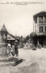 Fontaine à boire – Avenue Jean-Jaurès – Fort-de-France – Martinique (disparue)