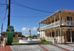 Fontaine Adolphine – Rue Robert Tamas – Saint-Claude – Guadeloupe