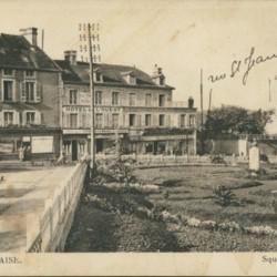 ancienne localisation du monument Liard à Falaise