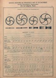 DENO_1894_PL541 – Volants et poulies de transmission