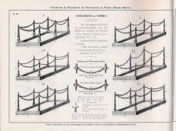 DOM_AG_1928_PL69 – Entourages de tombes à chaînes