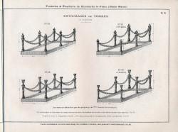 DOM_AG_1928_PL70 – Entourages de tombes à chaînes