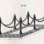 DOM_AG_1928_PL72 - Entourages de tombes à chaînes - Image1