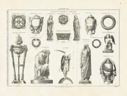 DUR_FU6_F17_PL613 – Statues et ornements funéraires