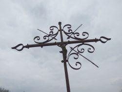 Croix funéraires – cimetière – Érin