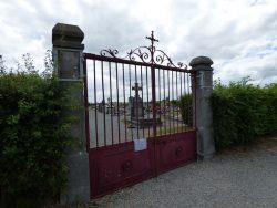 Fonte funéraire – cimetière – Grand-Fayt