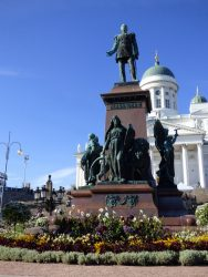 Monument au tsar Alexandre II – Helsinki