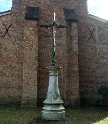 Christ et croix – Chemin de Lafage – Aigrefeuille