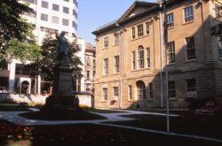 Monument à Joseph Howe – Hollis Street – Halifax – Canada