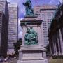 Monument de Monseigneur Bourget - Boulevard René-Levesque - Montréal - Canada - Image1