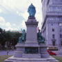 Monument de Monseigneur Bourget - Boulevard René-Levesque - Montréal - Canada - Image2