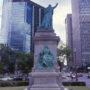 Monument de Monseigneur Bourget - Boulevard René-Levesque - Montréal - Canada - Image3