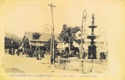 Fontaine Agnès – Place Bertin – Saint-Pierre – Martinique (disparue)