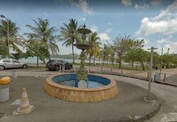 Fontaine – Place Joyeuse – La Trinité – Martinique