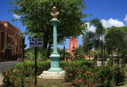 Colonne de la République – Place Frédéric Jalton – Les Abymes – Guadeloupe