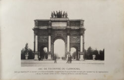 Quadrige – Arc de triomphe du Carrousel – Paris (75001)