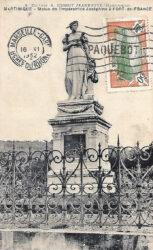 Monument à l'impératrice Joséphine de Beauharnais – Place de la Savane – Fort-de-France – Martinique (disparu)