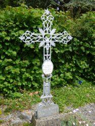 Croix funéraire – cimetière – La Flamengrie (3)