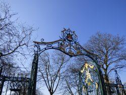 Grilles du parc – Dunkerque (Malo-les-Bains)