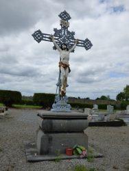 Croix monumentale – cimetière – Marbaix