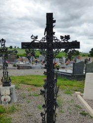 Croix funéraire – cimetière – Marbaix (13)