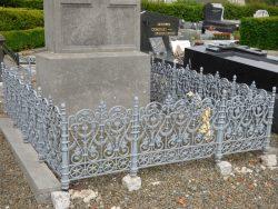 Entourage de tombe – cimetière – Marbaix (2)
