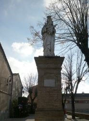 Vierge – Place des Tilleuls – Villenouvelle