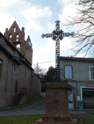 Croix de mission – Place de l'Église – Ayguesvives