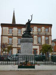 Monument aux morts de 14-18 – Place de la Paix – Muret