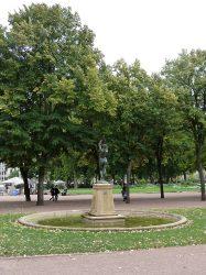 Nymphe, ou La source – Promenade de l'Esplanade – Metz