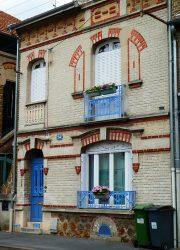 Balcons de croisées et panneaux de porte Guimard – Rue Chevalier – Châlons-en-Champagne