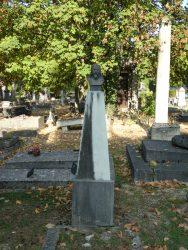 Tombe Aubin Louis Hédouin de Pons-Ludon de Malavois – Cimetière du nord – Reims