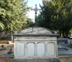 Croix famille Buffet-Périn – Cimetière du Nord – Reims