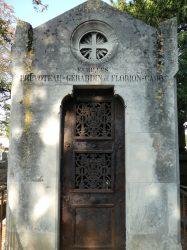 Porte de chapelle familles Prévoteau-Géradin et Florion-Cadot – Cimetière du Nord – Reims