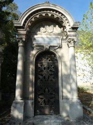 Porte de chapelle Bertherand-Sutaine – Cimetière du Nord – Reims