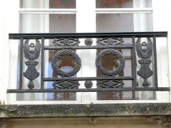 Balcons de croisées – rue Barbette –  Paris (75004)
