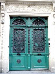 Porte d'immeuble – Bd Bonne-Nouvelle – Paris (75010)